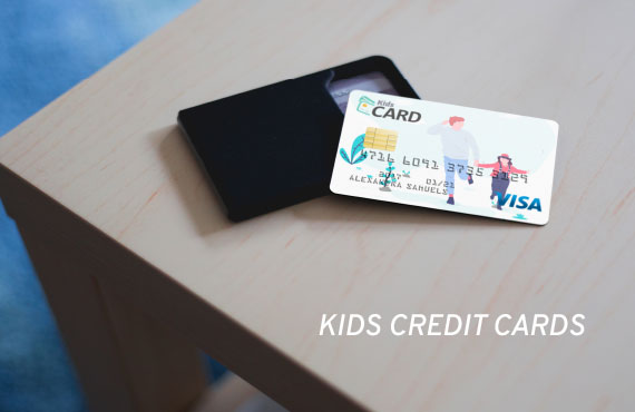 kids credit card